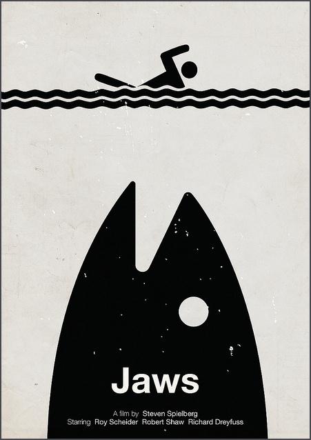 10-Pictogram movie posters-Escenas clásicas del cine representadas con pictogramas