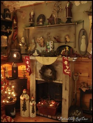 Prim Christmas...cozy!!