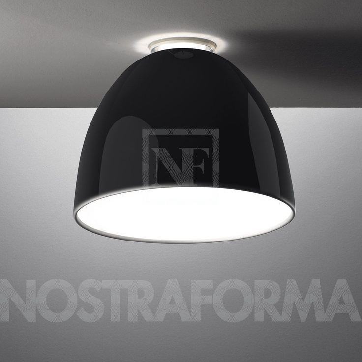 Artemide Nur Gloss Soffitto ceiling lamp » modern and contemporary lighting fixtures, chandeliers & furniture » NOSTRAFORMA.