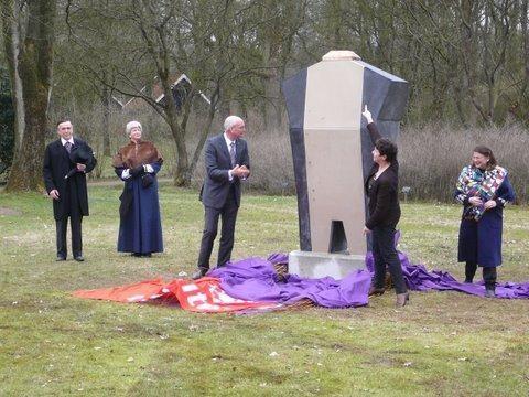 Ter gelegenheid van het 100-jarig jubileum werd op 14 maart 2012 een monument onthuld: 't Heertje in De Lutte.