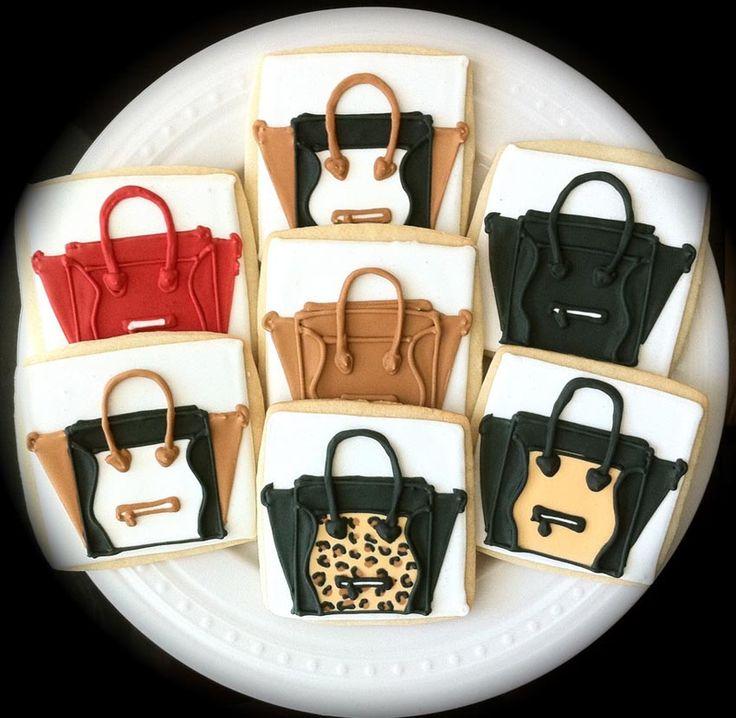 Celine Luggage cookies