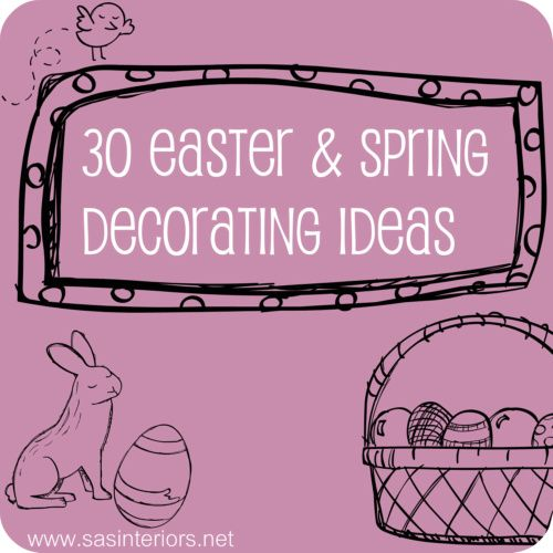 30 Easter & Spring Decorating Ideas showcasing vignettes, mantels, and wreaths, featured on www.sasinteriors.net30 Easter, Decor Ideas, Ideas Showcase, Easter Spring Decorating Ideas, Easter Decor, Decor Decor, Arts And Crafts, Showcase Vignettes, Spring Ideas