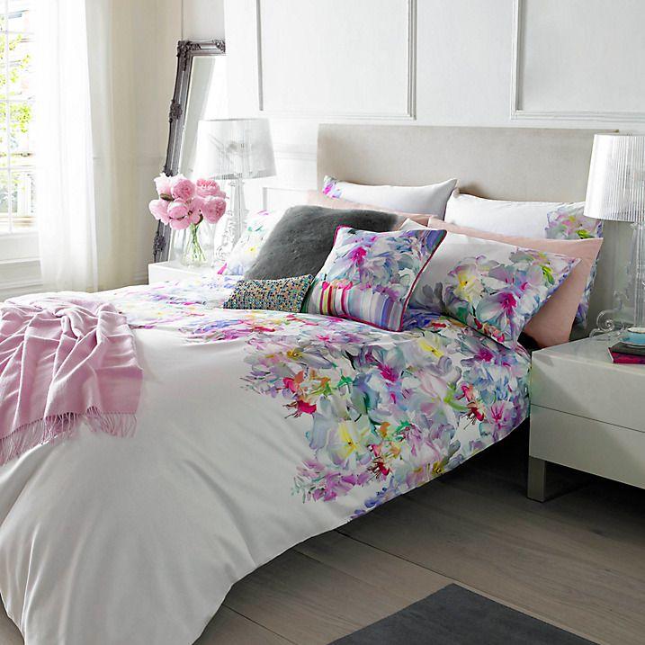 Buy Ted Baker Hanging Gardens Standard Pillowcases, Pair Online at johnlewis.com