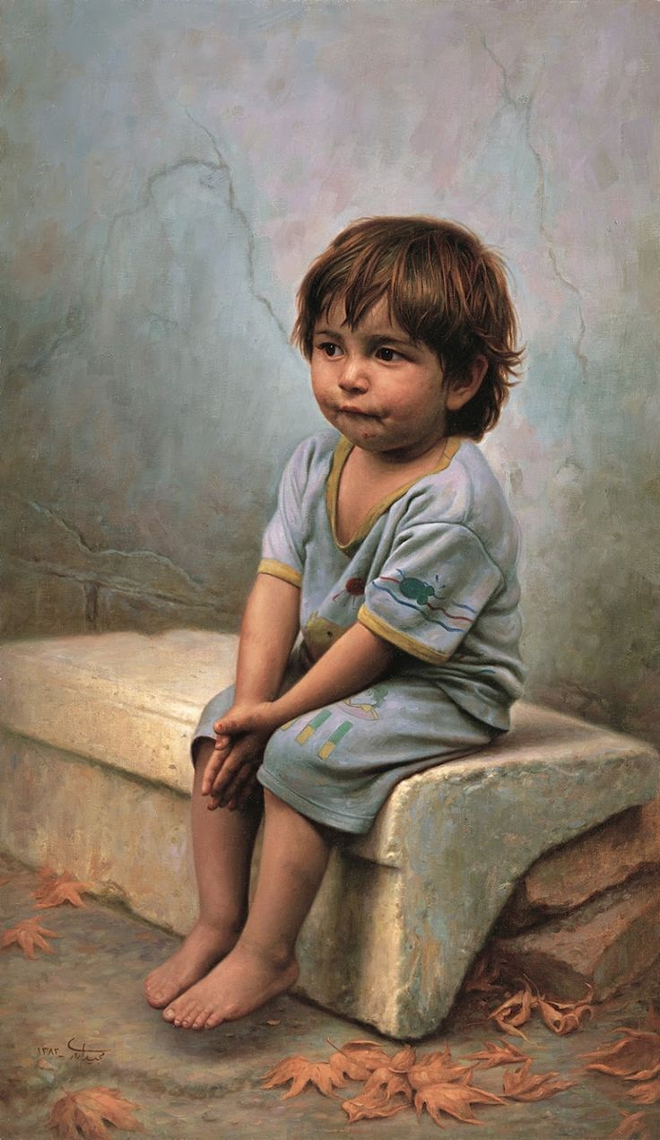 Iman Maleki 1976,  Iranian Realist painter