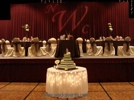 Head table seating ideas instead of one long head table sweetheart