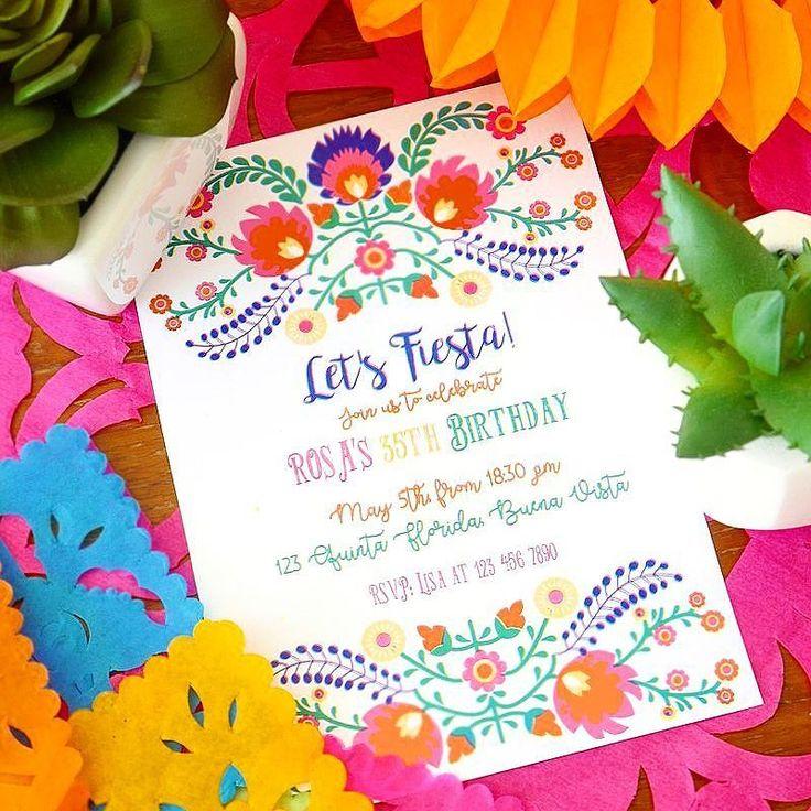 Ces jolies invitations sont désormais sur BirdsParty.fr  Parfaites pour un marriage ou anniversaire Mexican!  . . These cute printable invites are now in store at BirdsParty.com - perfect for Cinco de Mayo weddings or birthday fiestas!  . . . #twitter #cincodemayo #partydecoration #festalinda #mexixanpartyideas #festacriativa #bhgcelebrate #diy #flowers #partyblogger #decoracaodefesta #encontrandoideias #fiesta #festapersonalizada #partyideas #party #mesa #festacriativa #festa #festas…