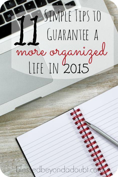 my organized lifestyle 2015