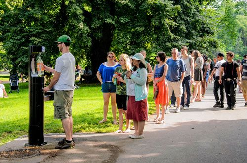 Six Smart Tap water bottle filling stations are coming to Prospect Park this summer, thanks to a donation from the company, with the hope that park users ...