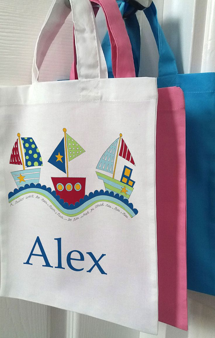 35 best girls swimming bags images on pinterest personalised boys bag mini totebag easter gift birthday gifts boats negle Choice Image