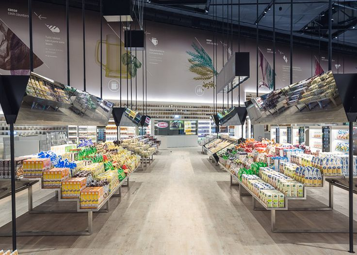Carlo Ratti creates digital supermarket at the Milan Expo 2015