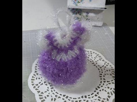 코바늘 패턴을 응용해서 벽걸이 장식 만들기(Crochet wall hanging) /코바늘 홈 데코 - YouTube