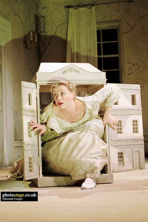 2000 Anne Marie Duff As Nora In A Doll S House By Ibsen Presented