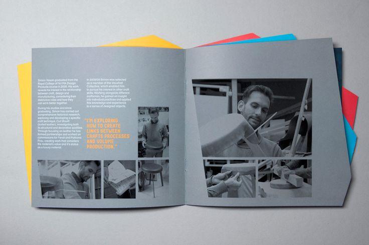 design museum brochure alphabetical studio graphic design pinterest museums studios. Black Bedroom Furniture Sets. Home Design Ideas