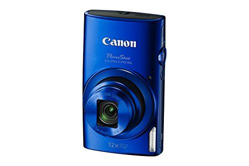 Canon PowerShot ELPH 170 IS (Blue), 2016 Amazon Top Rated Point & Shoot Digital Cameras  #Photography