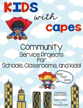 "Community Service Projects - Project Based Learning - It is a goal of many schools to reach out to their local community and see how they can help others.  This product includes a flyer to send home letting families know about your project, invitations to get others involved, and reminder notes to send home when the ""due"" date is near.  Let's help others!"