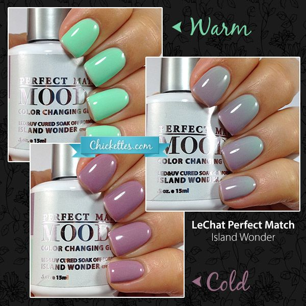 LeChat Perfect Match Mood Gel Polish - Island Wonder