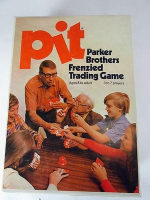 Vintage 1973 Parker Brothers Pit Trading Game | eBay