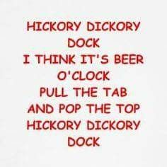Hickory Dickory...BEER!