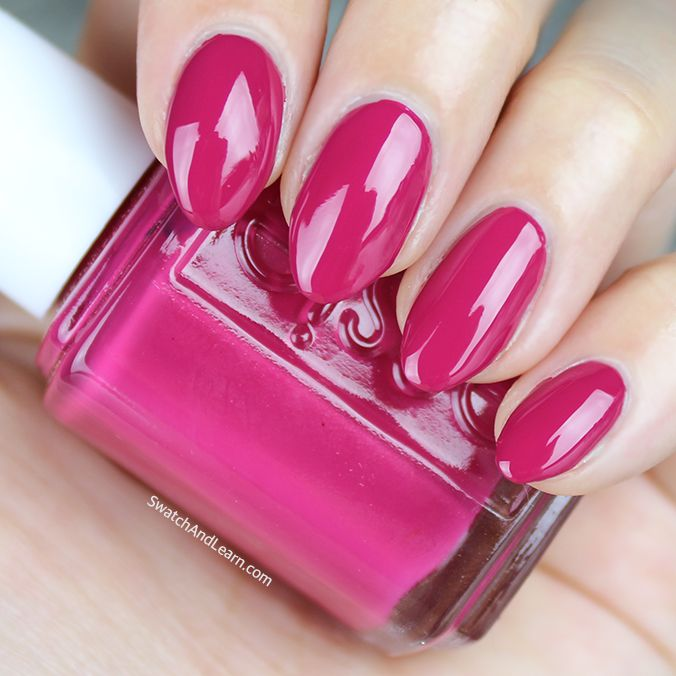 """B'aha Moment!!, which is from the Essie Spring 2017 Collection makes nails exclaim, """"Eureka!"""" (See collection swatches and a review on SwatchAndLearn.com.)"""