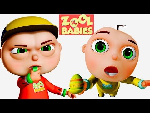 Zool Babies Playing Soccer | Five Little Babies Series | Videogyan Kids Shows - YouTube