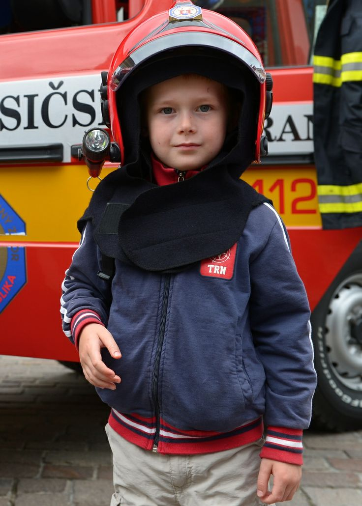 Young Slovak Firefighter