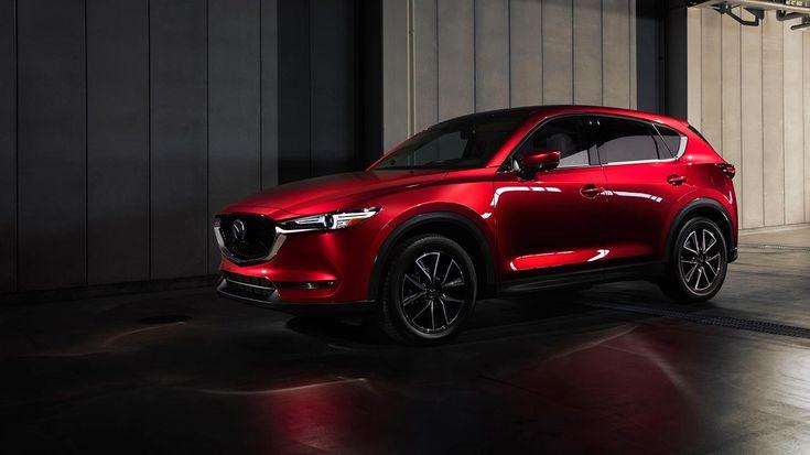 Mazda unveils redesigned 2017 CX-5 compact crossover at LA Auto Show