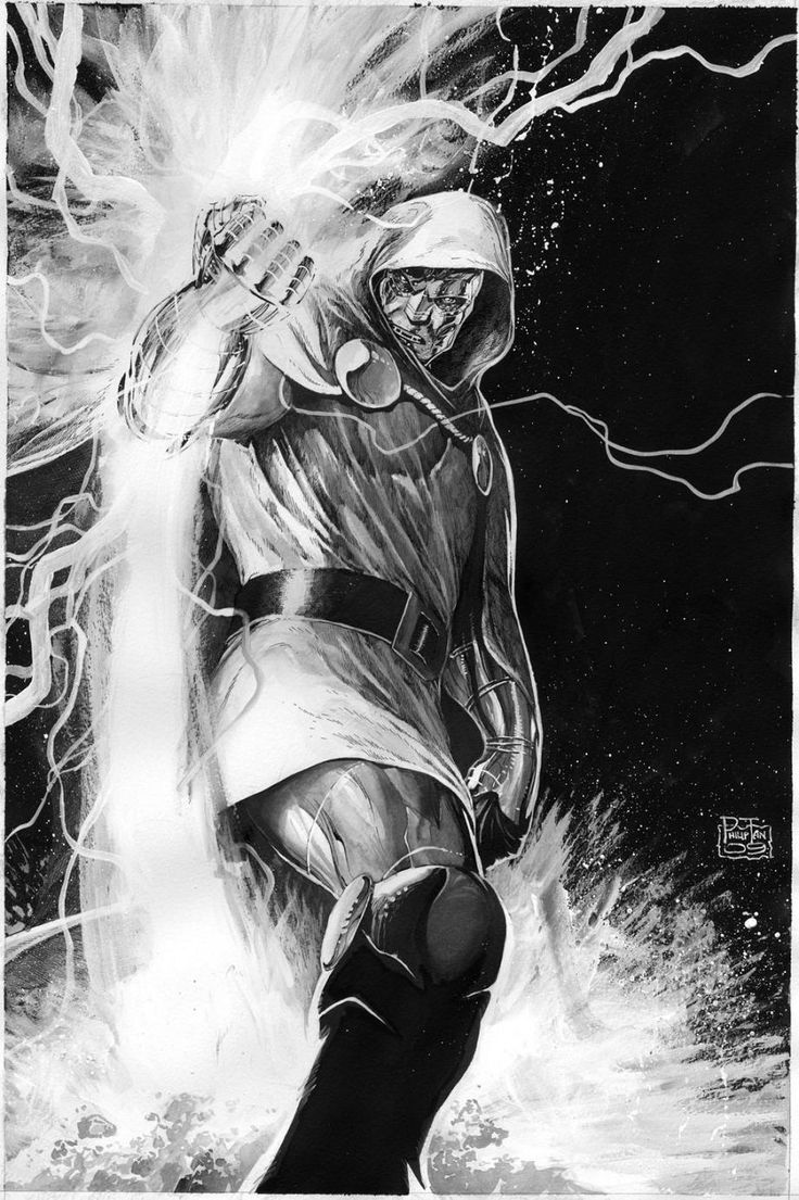 Sweet Jeebus...this image of Doom is so bawse I think my brain just oozed out of my nostrils.