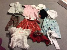 Lot of American Girl Bitty Baby Doll Clothes, Hats, Dresses, Tights, Pants, Tops