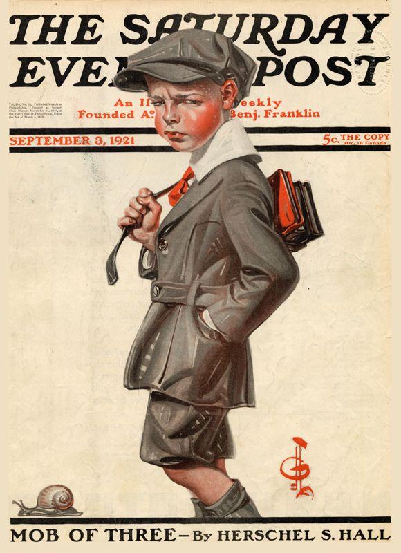 1921 The Saturday Evening Post - J. C. Leyendecker