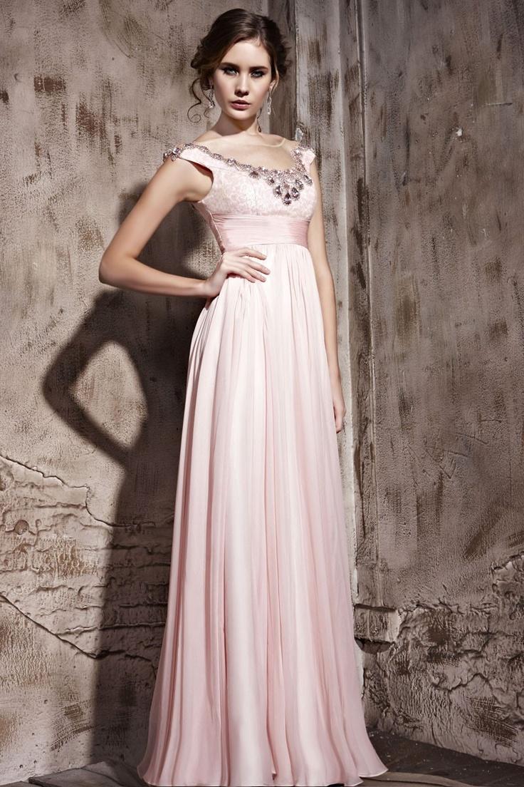 Pink Mandarin Neck Sequin High-waist Sheath Dress