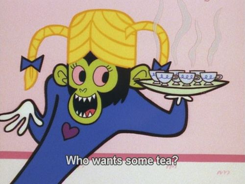 And Mojo Jojo fit in perfectly with the Powerpuff Girls' friends when he snuck into their sleepover.   The Powerpuff Girls Could Have Replaced Your Gender Studies Class