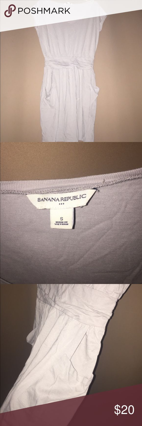 tshirt dress with pockets new without tags! MAKE ME AN OFFER Banana Republic Dresses