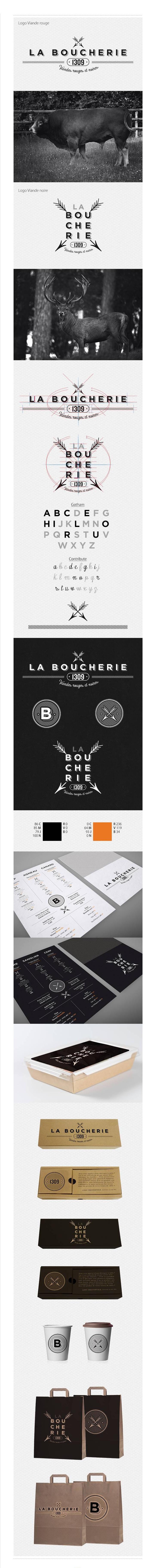 La Boucherie on Behance