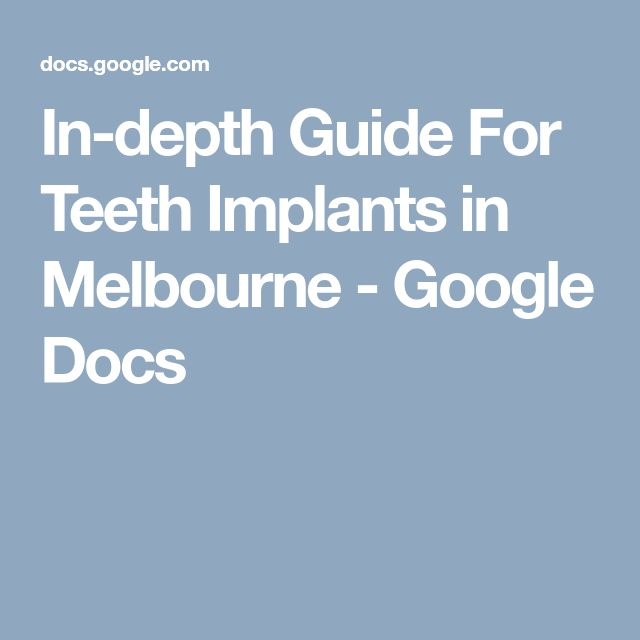 In case you are looking for #teeth #implants in #Melbourne, then book your appointment with #Prahran #Family #Dental and get treated from professional and experienced ones only.