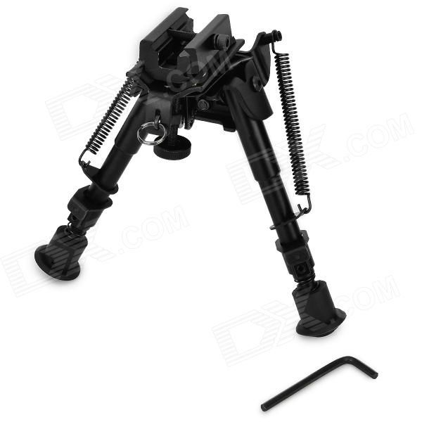 "6"" Aluminum Alloy Tactical Bipod w/ Extendable Leg for Guns - Black Price: $33.99"