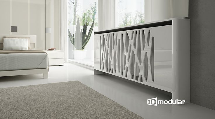 Radiator Cabinets are made of MDF panels and covered with color PVC foil, so there's no need of painting. Radiator Cabinets are easy to keep clean. MDF is water retardant. - See more at: https://www.3dmodular.co.uk/radiator-cabinets/Radiator-Cabinet-PDA02-GEO-High-Gloss