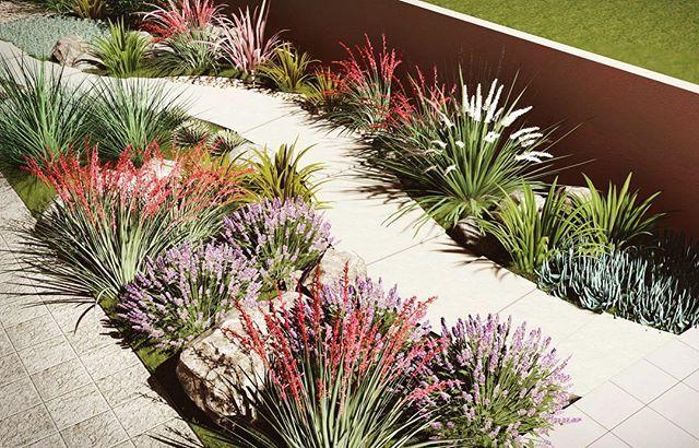 Landscapedesign Lumion 3d Sketchup Beautiful Landscape Inspiration Plant Watter Sittingarea Sittinga Garden Design Patio Stones Modern Garden Design