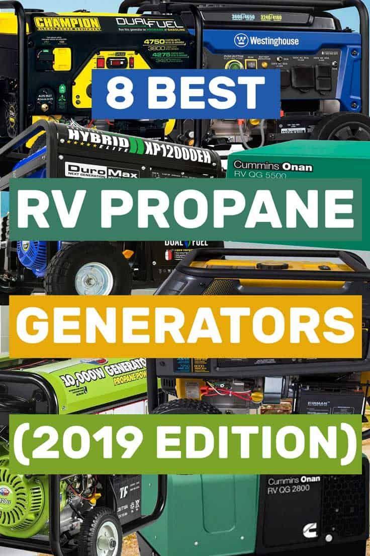 8 Best Rv Propane Generators 2019 Edition Vehicle Hq Article By Vehq Com Vehq Rv Vehicles Propane Generator Camping Accessories Rv Camping Accessories
