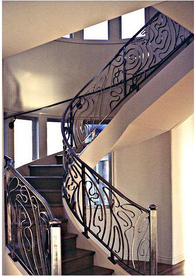 아르누보 양식 계단