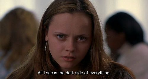 quote, dark, and prozac nation image