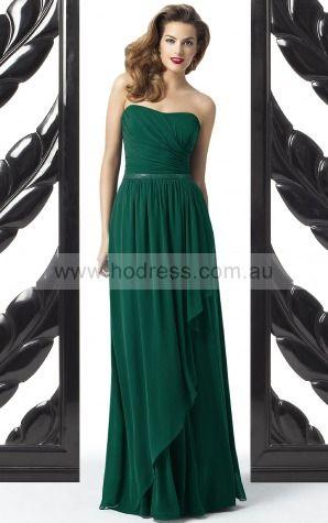 Sleeveless Zipper Sweetheart Floor-length Chiffon Formal Dresses b140519--Hodress