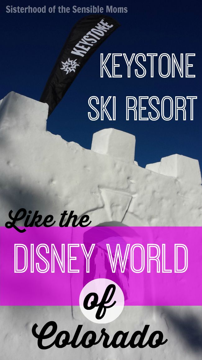 Keystone Ski Resort is Like the Disney World of Colorado - These are big words, but this was one of the best family vacations I have ever taken. #familytravel