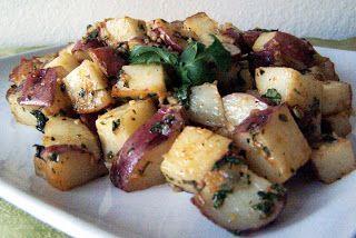 De Gevulde Olijf: Gekruide aardappelen - Batata harras