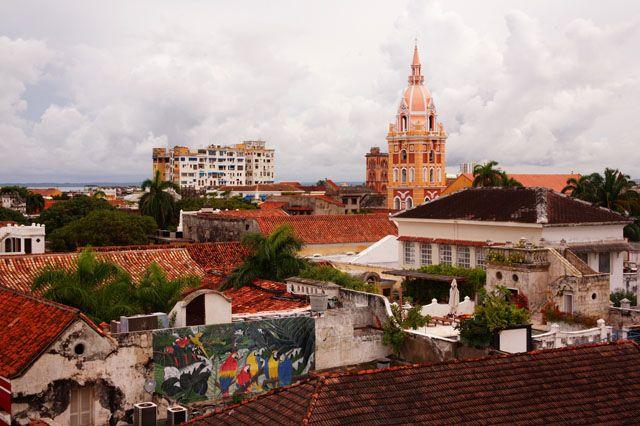 Panorámica del Centro Histórico de Cartagena de Indias