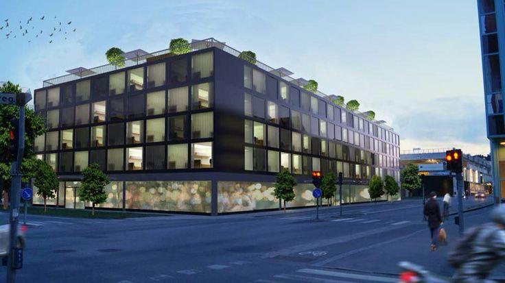 Youthl - Små ungdomslägenheter mitt i city. Platsen är korsningen Kristinagatan-Repslagaregatan. Beslut om tillåtelse att bygga kommer inom kort. (Arkeologisk undersökning kommer att inleda arbetet, om det blir av)