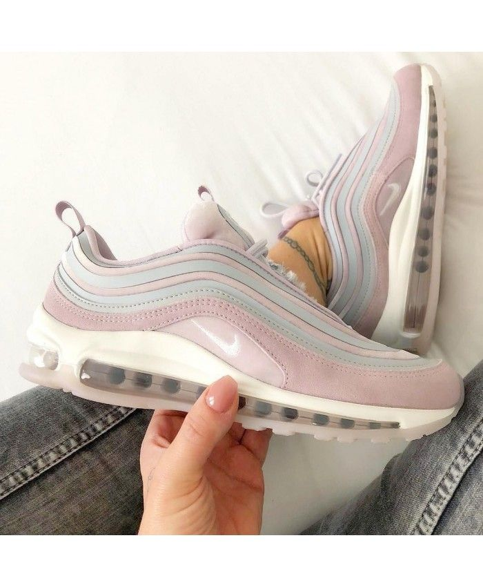 54c538aa0ee Women s Nike Air Max 97 Ultra 17 LX Vast Grey Summit White Particle Rose  Trainer,Fashion sneakers
