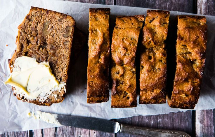Quick and Easy Date and Walnut Loaf. Perfect for breakfasts, brunches, snacks and desserts. Free from gluten, grains, dairy and refined sugar. Enjoy.