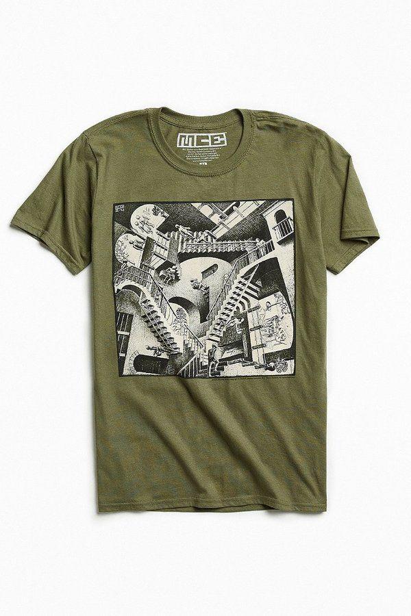 Urban Outfitters M. C. Escher Relativity Tee