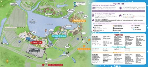 Heading to Downtown Disney at Walt Disney World? Don't Miss These Navigation Tips « Disney Parks Blog