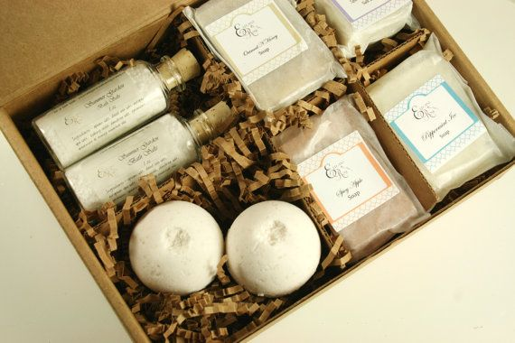 Pampering Bath Gift Set - Mother's Day Gift, Spa Gift, Gift for Her